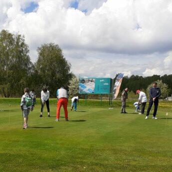 Akademia Golfa w Kamień Golf Club pod Patronatem Starosty Kamieńskiego