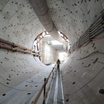 Wejdź do drążonego tunelu! Wylicytuj obchód po budowie i pomóż Wiktorowi z Międzyzdrojów!