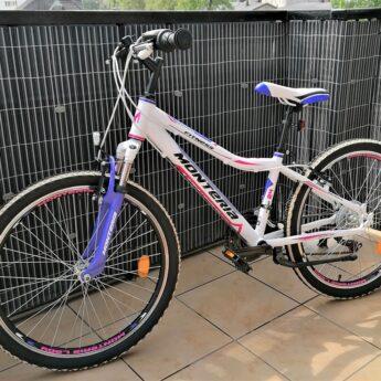 """MONTERIA 24"""" super rower dla dziewczynki !!! Jak NOWY."""