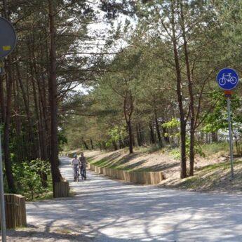 2,5 kilometrowy odcinek Velo Baltica w Międzyzdrojach robi wrażenie!