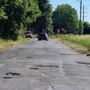 Mieszkańcy proszą o remont ulicy Polnej