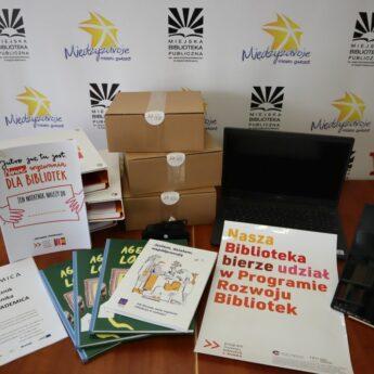 """Academica, """"Społecznik 2019-2021"""", Program Rozwoju Bibliotek i inne inicjatywy w międzyzdrojskiej bibliotece"""