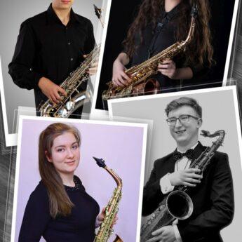 Już jutro w Międzynarodowym Domu Kultury koncert Saxademus Quartet!