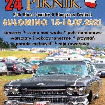 24. Western Piknik folk,blues, Country&Bluegrass music festiwal w Sułominie