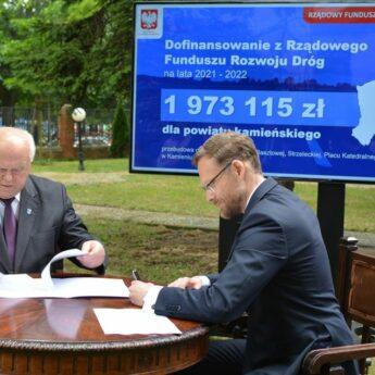 Umowa na przebudowę ulic w Kamieniu Pomorskim podpisana!