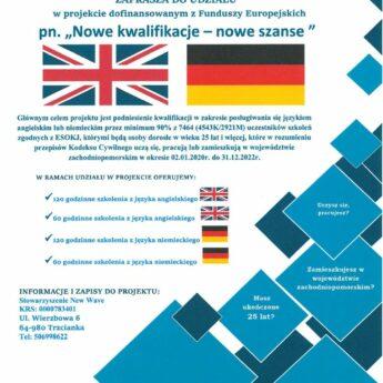 Nauka języka angielskiego i niemieckiego w GOKiS!