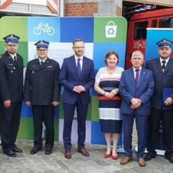 Mały Strażak i Remiza - wsparcie dla OSP z Powiatu Kamieńskiego podpisane