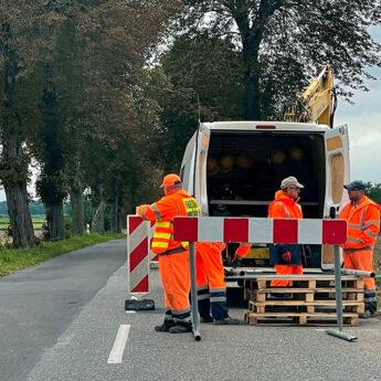 Rozpoczął się remont drogi wojewódzkiej na odcinku Świerzno - Jatki