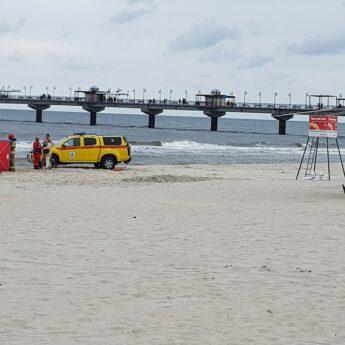 Kolejny dramat na plaży w Międzyzdrojach!