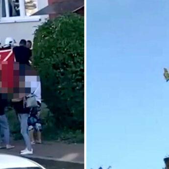 Strażacy interweniowali w Wolinie. Kobieta przetransportowana do szpitala