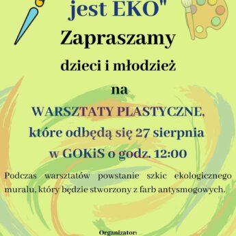 W Golczewie powstanie EKO mural