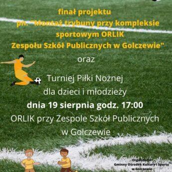 Turniej Piłki Nożnej dla dzieci w Golczewie