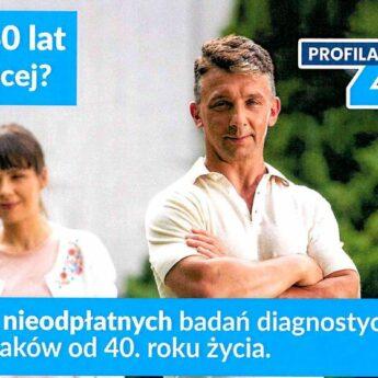 Profilaktyka 40 plus. Gdzie zrobić pakiet bezpłatnych badań