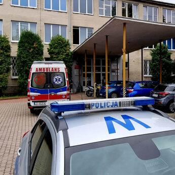 Pijany uczeń trafił do szpitala w Szczecinie