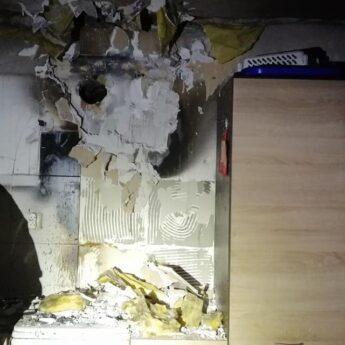 Pożar w jednym z domów w Gostyniu. Na miejscu cztery zastępy straży
