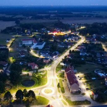Modernizacja oświetlenia przynosi efekty. Gmina Świerzno z 70% oszczędnościami w zużyciu prądu