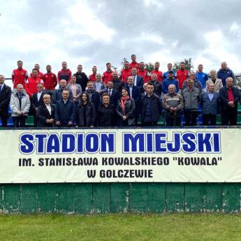 Stadion Miejski w Golczewie z imieniem Stanisława Kowalskiego!