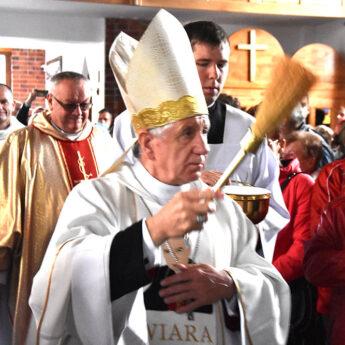 Kościół w Chominie ma nowego patrona