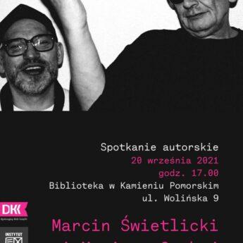 Marcin Świetlicki i Mariusz Czubaj - spotkanie autorskie