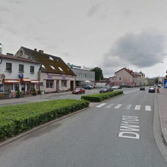 Utrudnienia w ruchu drogowym w Golczewie