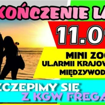 """Festyn """"Zakończenie Lata"""" w Międzywodziu"""