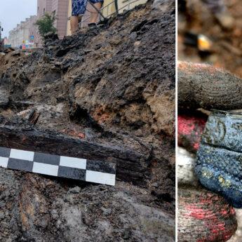 XVII - wieczne relikty odkryte w trakcie prac w Kamieniu Pomorskim!
