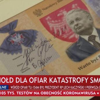 NBP wyda banknot z Lechem Kaczyńskim