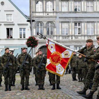 14. Zachodniopomorska Brygada Obrony Terytorialnej otrzymała sztandar
